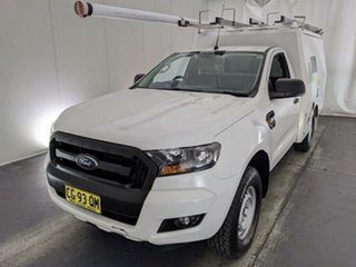 2016 Ford Ranger PX MkII XL White 6 Speed Sports Automatic Cab Chassis.
