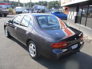 1995 Nissan Bluebird TI Purple 4 Speed Automatic Sedan.