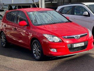 2012 Hyundai i30 FD MY11 SX Red 4 Speed Automatic Hatchback