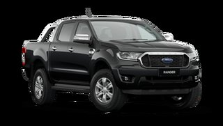 2021 Ford Ranger PX MkIII XLT Double Cab Shadow Black 6 Speed Automatic Pick Up.