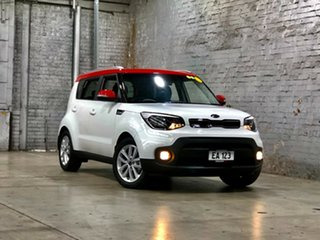 2017 Kia Soul PS MY17 SI White 6 Speed Sports Automatic Hatchback.