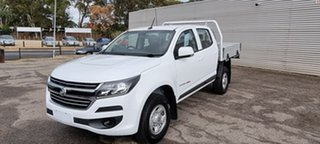 2017 Holden Colorado RG MY18 LS Crew Cab White 6 Speed Sports Automatic Cab Chassis