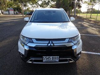 2018 Mitsubishi Outlander ZL MY19 LS 2WD White 6 Speed Constant Variable Wagon.