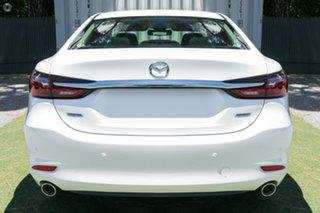 2021 Mazda 6 GL1033 Sport SKYACTIV-Drive White 6 Speed Sports Automatic Sedan