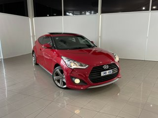 2014 Hyundai Veloster FS3 SR Coupe Turbo Red 6 Speed Manual Hatchback.