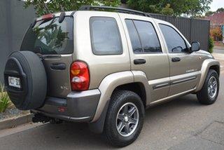2004 Jeep Cherokee KJ MY2004 Extreme Sport Gold 4 Speed Automatic Wagon