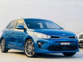 2020 Kia Rio YB MY20 Sport Blue 6 Speed Automatic Hatchback