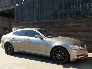 2010 Jaguar XF X250 MY11 75th Anniversary Grey 6 Speed Sports Automatic Sedan.