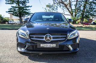 2018 Mercedes-Benz C-Class W205 809MY C300 9G-Tronic Black 9 Speed Sports Automatic Sedan.