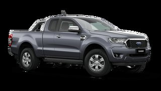 2021 Ford Ranger PX MkIII 2021.25MY XLT Meteor Grey 10 Speed Sports Automatic Super Cab Pick Up.