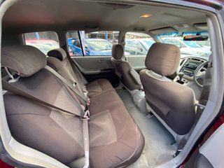2004 Toyota Kluger MCU28R CV AWD Burgundy 5 Speed Automatic Wagon