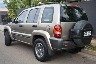 2004 Jeep Cherokee KJ MY2004 Extreme Sport Gold 4 Speed Automatic Wagon.