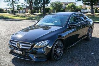 2020 Mercedes-Benz E-Class W213 800+050MY E200 9G-Tronic PLUS Black 9 Speed Sports Automatic Sedan