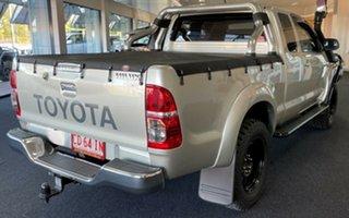 2014 Toyota Hilux KUN26R MY14 SR5 Xtra Cab Silver 5 Speed Manual Utility.