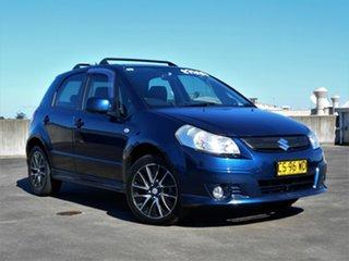2007 Suzuki SX4 GYA Blue 4 Speed Automatic Hatchback.