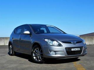 2011 Hyundai i30 FD MY11 SLX Grey 4 Speed Automatic Hatchback.