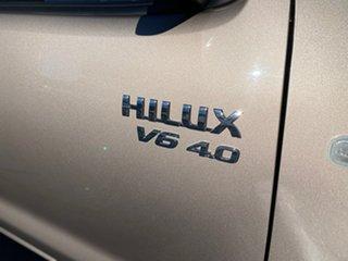 2006 Toyota Hilux GGN15R MY05 SR5 Xtra Cab 4x2 Bronze 5 Speed Automatic Utility