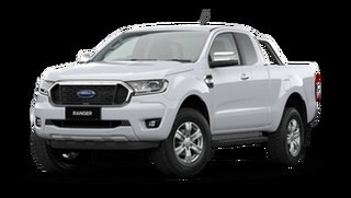 2021 Ford Ranger PX MkIII 2021.25MY XLT Arctic White 6 Speed Sports Automatic Super Cab Pick Up
