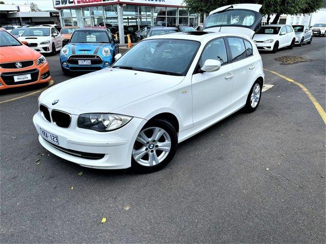 Used BMW 118i E87 MY11 118i Seaford, 2010 BMW 118i E87 MY11 118i White 6 Speed Automatic Hatchback