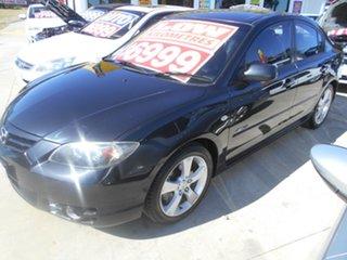 2004 Mazda 3 BK1031 SP23 Black 5 Speed Manual Sedan.