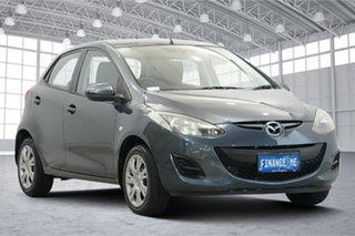 2012 Mazda 2 DE10Y2 MY12 Neo Graphite 4 Speed Automatic Hatchback.