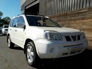 2004 Nissan X-Trail T30 II TI White 4 Speed Automatic Wagon.