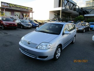 2005 Toyota Corolla ZZE122R Ascent Blue 5 Speed Manual Wagon.