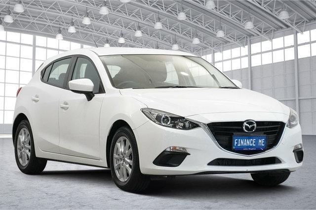 Used Mazda 3 BM5478 Neo SKYACTIV-Drive Victoria Park, 2015 Mazda 3 BM5478 Neo SKYACTIV-Drive White 6 Speed Sports Automatic Hatchback