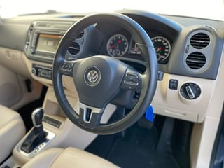 2012 Volkswagen Tiguan 5N MY12.5 132TSI Tiptronic 4MOTION Pacific Blue 6 Speed Sports Automatic