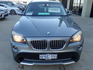 2010 BMW X1 E84 xDrive 23D Grey 6 Speed Automatic Wagon.