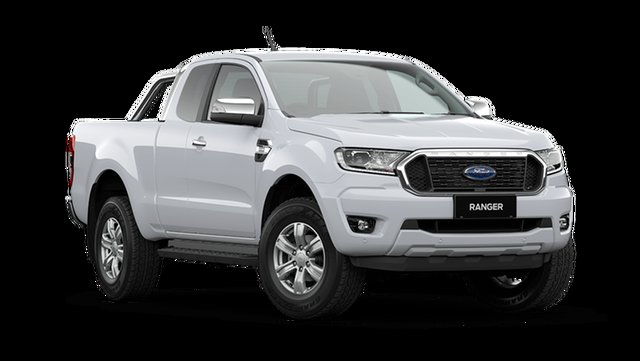 New Ford Ranger PX MkIII 2021.25MY XLT Rutherford, 2021 Ford Ranger PX MkIII 2021.25MY XLT Arctic White 6 Speed Sports Automatic Super Cab Pick Up