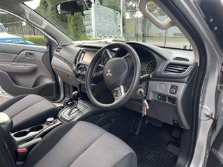 2016 Mitsubishi Triton MQ MY16 GLX Double Cab Silver 5 Speed Sports Automatic Utility