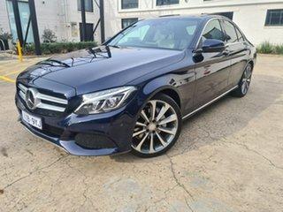 2016 Mercedes-Benz C-Class W205 806+056MY C250 d 7G-Tronic + Blue 7 Speed Sports Automatic Sedan.