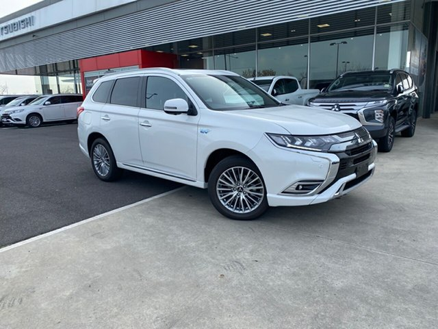 New Mitsubishi Outlander ZL MY21 PHEV AWD Exceed Essendon North, 2021 Mitsubishi Outlander ZL MY21 PHEV AWD Exceed Starlight 1 Speed Automatic Wagon Hybrid