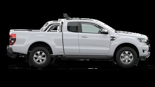 2021 Ford Ranger PX MkIII 2021.25MY XLT Arctic White 6 Speed Sports Automatic Super Cab Pick Up.