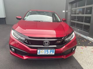 2020 Honda Civic 10th Gen MY20 RS Red 1 Speed Constant Variable Sedan