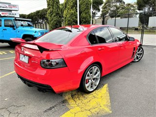 2006 Holden Special Vehicles GTS E Series Red 6 Speed Manual Sedan.