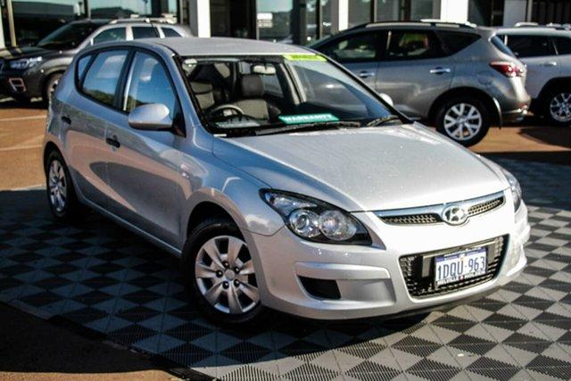 Used Hyundai i30 FD MY11 SX Attadale, 2011 Hyundai i30 FD MY11 SX Silver 4 Speed Automatic Hatchback