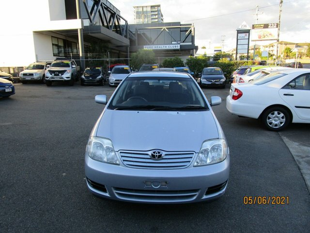 Used Toyota Corolla ZZE122R Ascent Coorparoo, 2005 Toyota Corolla ZZE122R Ascent Blue 5 Speed Manual Wagon