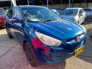 2011 Hyundai ix35 LM MY12 Active Blue 6 Speed Sports Automatic Wagon.