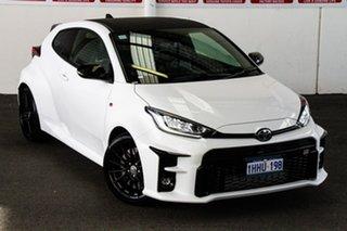 2020 Toyota Yaris Gxpa16R GR Glacier White 6 Speed Manual Hatchback.