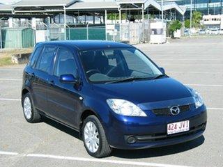 2006 Mazda 2 DY MY05 Upgrade Maxx Blue 4 Speed Auto Activematic Hatchback.