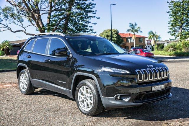 Used Jeep Cherokee KL MY17 Longitude Port Macquarie, 2017 Jeep Cherokee KL MY17 Longitude Brilliant Black Crystal Pearl 9 Speed Sports Automatic Wagon