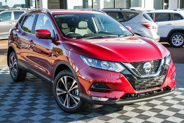 New Nissan Qashqai J11 Series 3 MY20 ST-L X-tronic Melville, 2021 Nissan Qashqai J11 Series 3 MY20 ST-L X-tronic Magnetic Red 1 Speed Constant Variable Wagon
