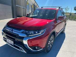 2021 Mitsubishi Outlander ZL MY21 Exceed AWD Red 6 Speed Constant Variable Wagon