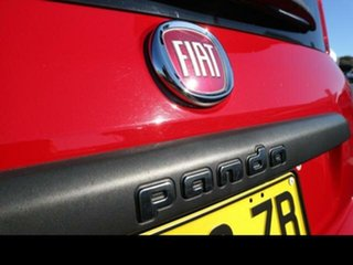 2013 Fiat Panda Easy Red 5 Speed Automatic Hatchback