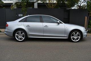2014 Audi A4 B8 8K MY15 S Line Multitronic Silver 8 Speed Constant Variable Sedan