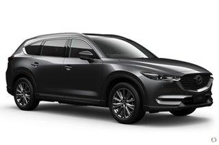 2021 Mazda CX-8 KG4W2A Asaki SKYACTIV-Drive i-ACTIV AWD LE Grey 6 Speed Sports Automatic Wagon
