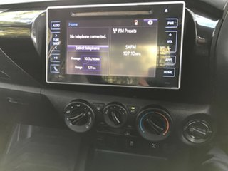 2018 Toyota Hilux GUN126R SR Graphite 6 Speed Manual Cab Chassis