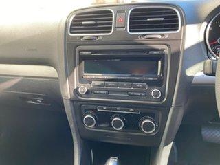 2011 Volkswagen Golf VI MY12 77TSI DSG Black 7 Speed Sports Automatic Dual Clutch Hatchback